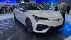 广汽新能源Aion S亮相车展 预售价为14万元起
