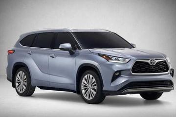 丰田全新汉兰达官图发布 纽约车展首发亮相