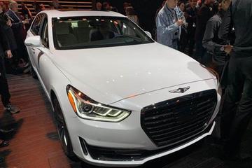 2019纽约车展:Genesis G90纽约车展发布