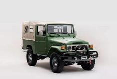 老车重生 翻新1972年丰田陆巡FJ43越野车