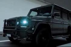 像极黑武士 实拍改装版奔驰大G巴博斯