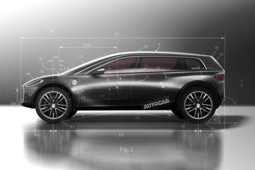 跨界设计风格 戴森电动车新专利图曝光