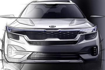或7月发布 曝起亚全新小型SUV设计图