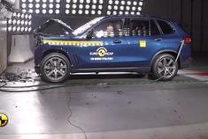 超安全SUV!2019款全新宝马X5碰撞测试