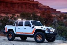 不影响越野 Jeep发布 Gladiator JT皮卡版