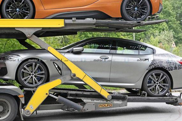宝马8系Gran Coupe低伪谍照 造型优雅