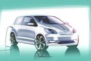 斯柯达Citigo电动版预告图 将于5月23日首发