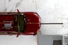 还是很安全 2019款丰田RAV4碰撞测试
