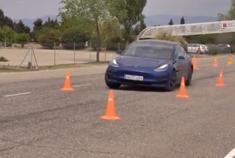 性能操控如何 特斯拉Model 3麋鹿测试