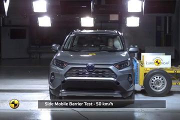 丰田新RAV4欧洲安全测试5星