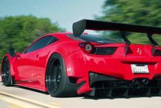 法拉利458 GT3 山路大片 声浪太炸!