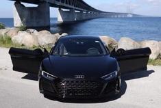这就是超跑!2020奥迪R8 V10 Performance