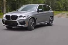 2020款宝马X3 M 高性能中型SUV