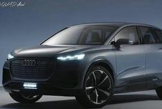 2020款奥迪Q4 买得起的豪华电动车
