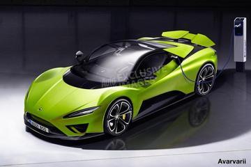 路特斯确认首款纯电动超跑命名为Evija
