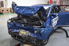 威马EX5 C-NCAP碰撞测试