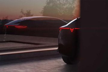 法兰克福首发 西雅特Cupra电动概念车预告图曝光