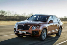 世界上最快的SUV 全新宾利 Bentayga Speed