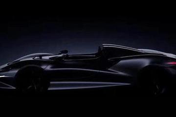 限量399台 迈凯伦发布全新超跑预告图