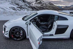 奥迪R8 V10 攀登阿尔卑斯山