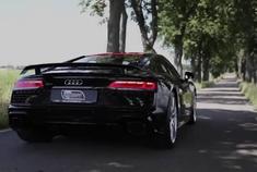 全黑战士出没 奥迪Audi R8 V10