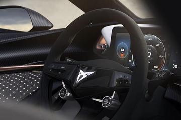 未来战士风格 Cupra电动概念车内饰图