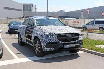 8月28日发布 全新奔驰GLE Coupe预告图