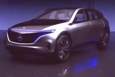 充满未来感 奔驰EQ概念车发布