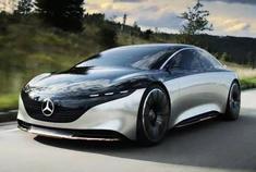 """堪比""""头等舱"""" 奔驰VISION EQS概念车发布"""