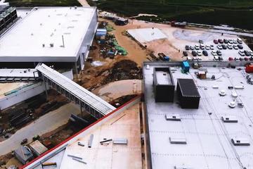 特斯拉上海超级工厂继续扩张