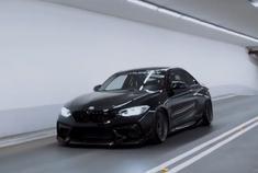 黑武士降临 宝马M2 Coupe改装欣赏