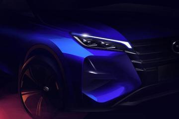 全新广汽传祺GS4设计草图发布 11月正式上市