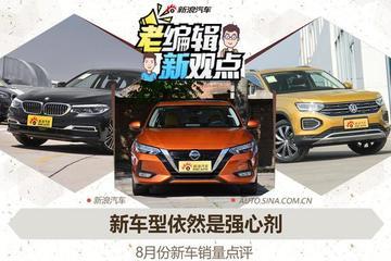 新车型依然是强心剂 8月新车销量点评