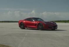基于Corvette Z06改造 纯电版Corvette创量产电动车速度记录
