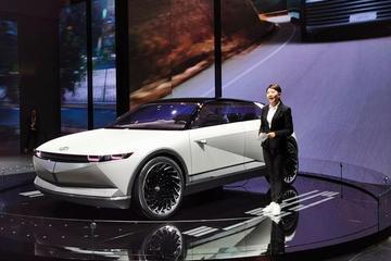 2019進博會:現代45概念車國內首發亮相