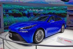 2019進博會:豐田第二代Mirai概念車亮相