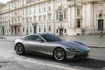 法拉利全新Roma亮相 搭3.9T V8动力/3.4秒破百