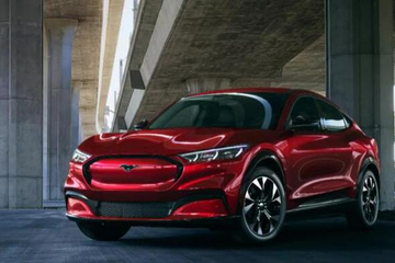 全新福特Mustang Mach-E全球首发 2021年引入中国