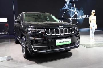 2019广州车展探馆:Jeep指挥官PHEV