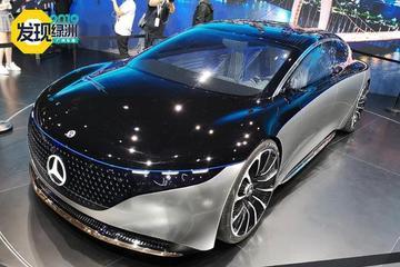 2019廣州車展:電動與豪華的新結合 奔馳VISION EQS概念車解析