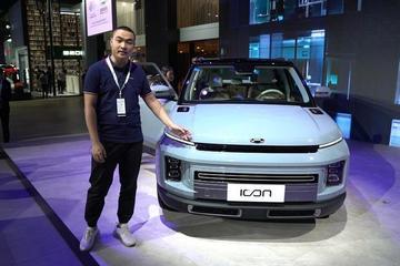 2019广州车展视频:60秒新车初印象 吉利 icon