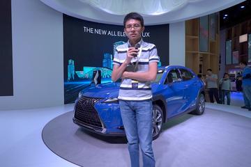 2019廣州車展視頻:60秒新車初印象 雷克薩斯UX300e