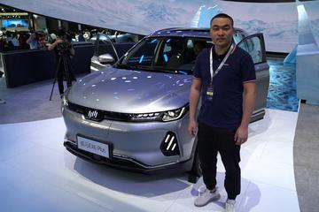 2019广州车展视频:60秒新车初印象 威马汽车 EX6 plus