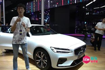 2019广州车展视频:60秒新车初印象 沃尔沃全新一代S60