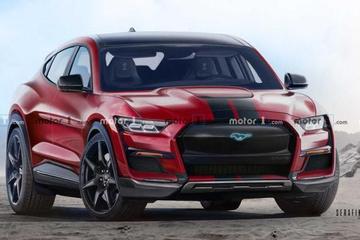 福特計劃推出Shelby版本Mustang Mach-E