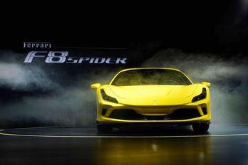 百公里加速2.9秒 全新法拉利F8 Spider亞洲首秀