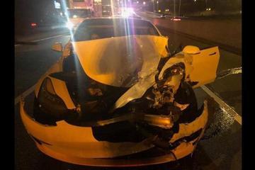 又一起自动驾驶事故 特斯拉Model 3追尾警车