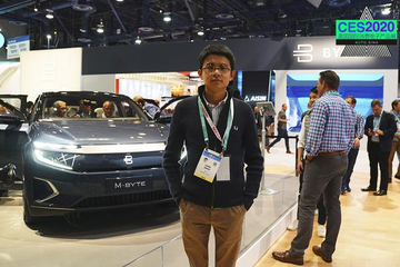 2020CES 視頻:TA終于來了 拜騰的PPT終于變為了首款量產車