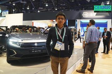 2020CES 视频:TA终于来了 拜腾的PPT终于变为了首款量产车
