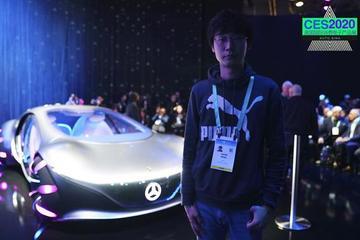 2020CES 視頻:奔馳全新概念車居然搭上了阿凡達?